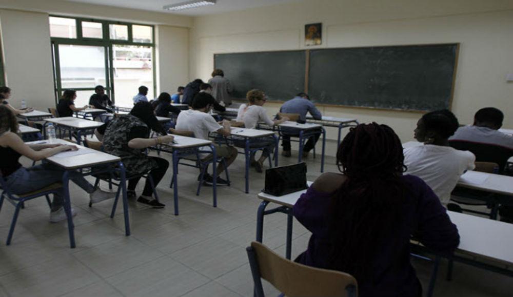 Δήλωση υποψηφίων για τις πανελλαδικές εξετάσεις